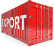 Schiffscontainer export