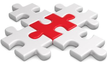 Puzzleteile komplett