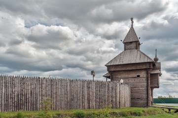 Yalutorovsk. Sretensky fortress. Russia