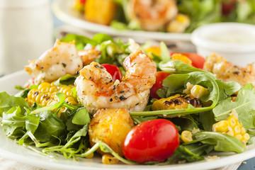 Healthy Shrimp and Arugula Salad