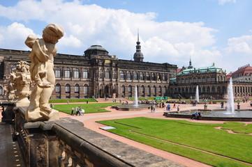 Zwinger in Dresden / Sachsen