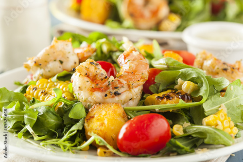 Healthy Shrimp and Arugula Salad