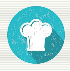 Hat cooking symbol,vector