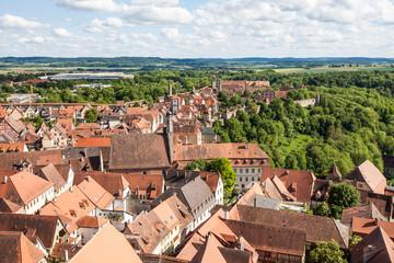 Altstadt von Rothenburg ob der Tauber, Deutschland