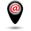 Векторный указатель с изображением электронной  почты