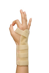 splint for wrist fracture or carpel tunnel syndrome