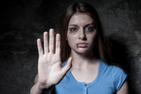 Stop hurting woman!