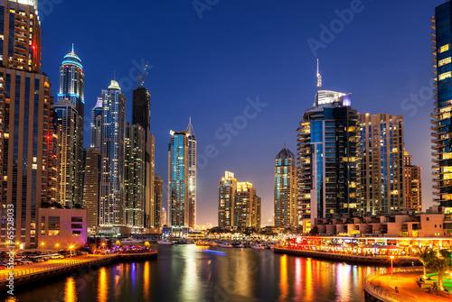 Plexiglas Dubai Dubai Marina