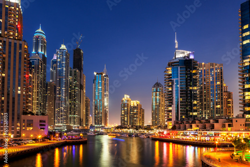 Plexiglas Midden Oosten Dubai Marina