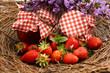 Erdbeeren Konfitüre