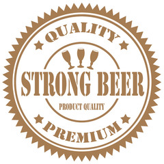 Strong Beer-stamp