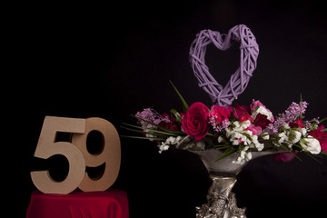 Roses and and age in numbers