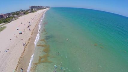 Aerial video Fort Lauderdale Beach