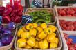 マルシェ(イメージ カラフルな野菜が並ぶ八百屋さん)フランス観光名物