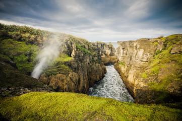 Punakaiki Blow Holes, West Coast, New Zealand