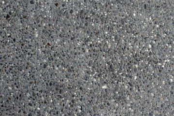 Pebbles pavement