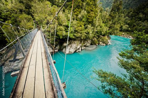 Fotobehang Nieuw Zeeland Hokitika Gorge, Hokitika, New Zealand