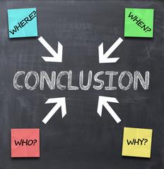 Conclusion concept