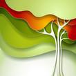 Obrazy na płótnie, fototapety, zdjęcia, fotoobrazy drukowane : Summer tree.