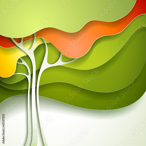 Summer tree. - 65537033