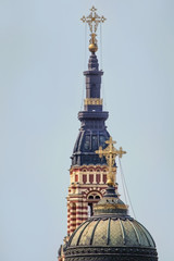 Top of Cathedral of the Annunciation in Kharkov.