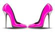 pink high heel shoes - 65538812
