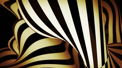 abstract motion background with moving zebra lines