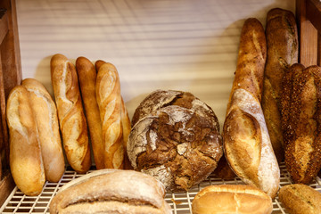 bread group from bakery