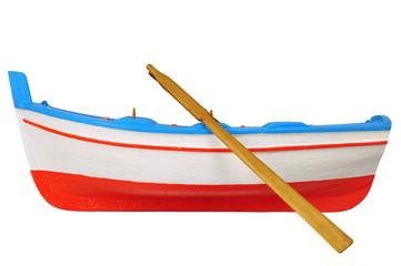 Barca modellino in legno