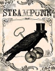 Raven steampunk