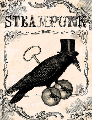 Raven steampunk © lynea