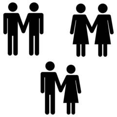 Strichmännchen Ehe