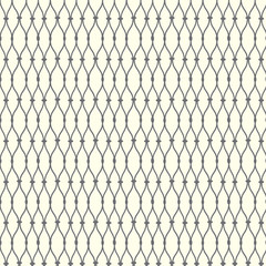 Seamless pattern lines with curve, grate vector background