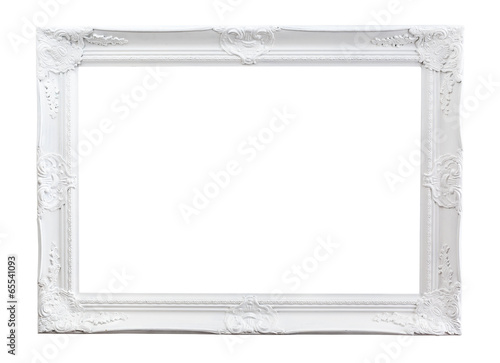 canvas print picture Ornated painted Picture Frame