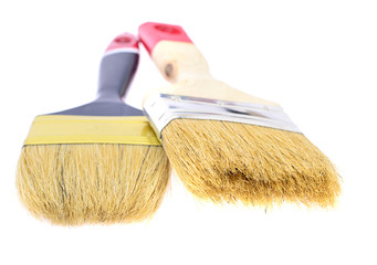 Paint Brush Isolated on White Background