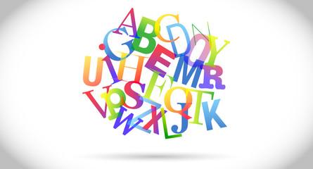 groviglio di lettere