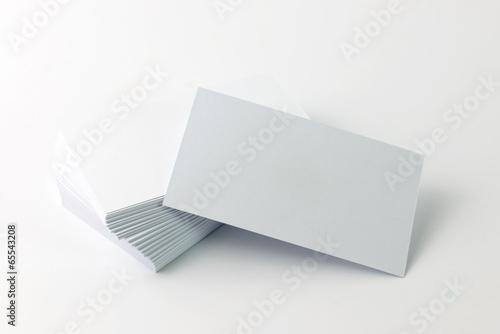 Fototapeta Plain business card
