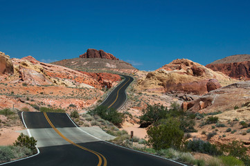 Valley of Fire Road