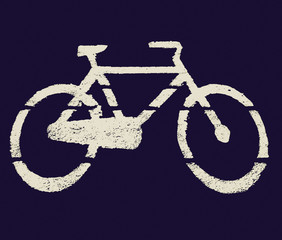 Retro look Bike picture