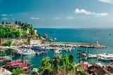 Fototapety Antalya harbor. Turkey