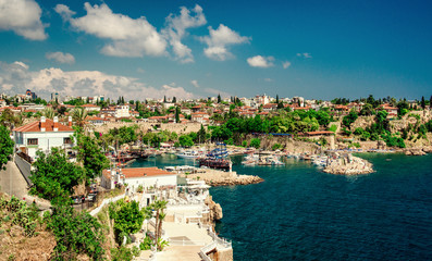 Antalya harbor. Turkey