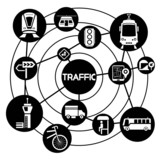 traffic and transportation, connecting network