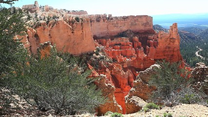 An open view of Bryce Canyon National Park, Utah
