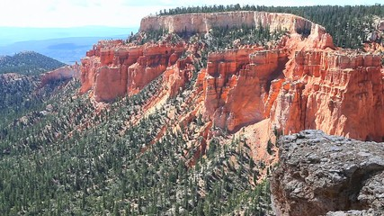 A view of beautiful Bryce Canyon National Park, Utah