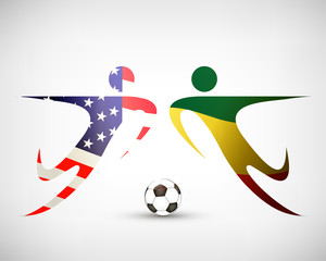 Fußball - USA gegen Ghana
