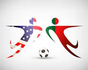 Fußball - USA gegen Portugal