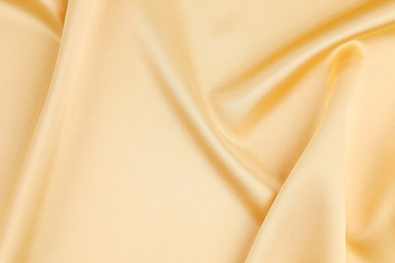 Gold silk background.