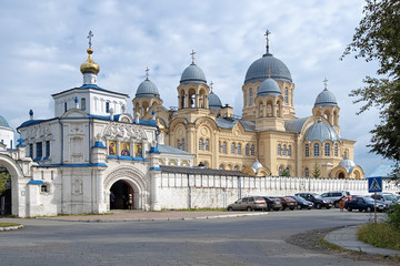 Exaltation of the Holy Cross Cathedral in Verkhoturye, Russia