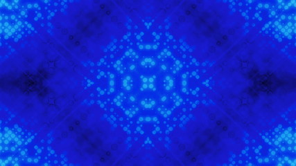 Abstract dot pattern blue looping animated background