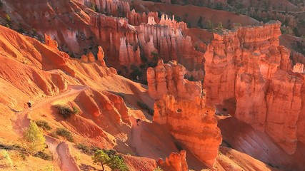 A timelapse of sunrise at Bryce Canyon NP as the Hoodoos glow